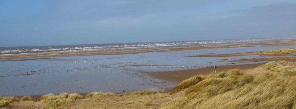 Ainsdale Beach in Southport. Photo by Andrew Brown Media