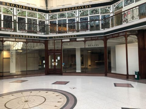 Iconic Southport department store emptied as new future awaits