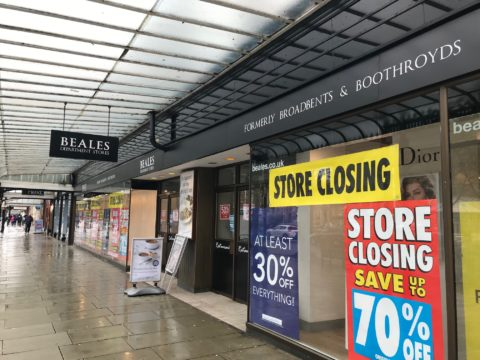 Beales in Southport to close ending 139 year history