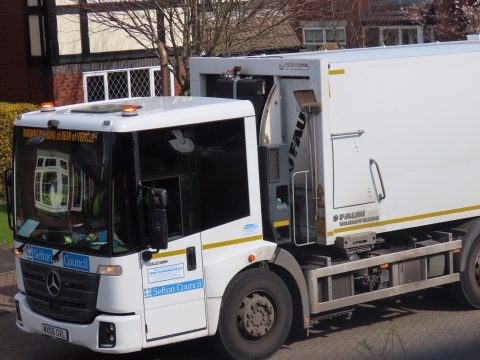 Refuse collectors clear 53 double decker buses worth of green waste in one day