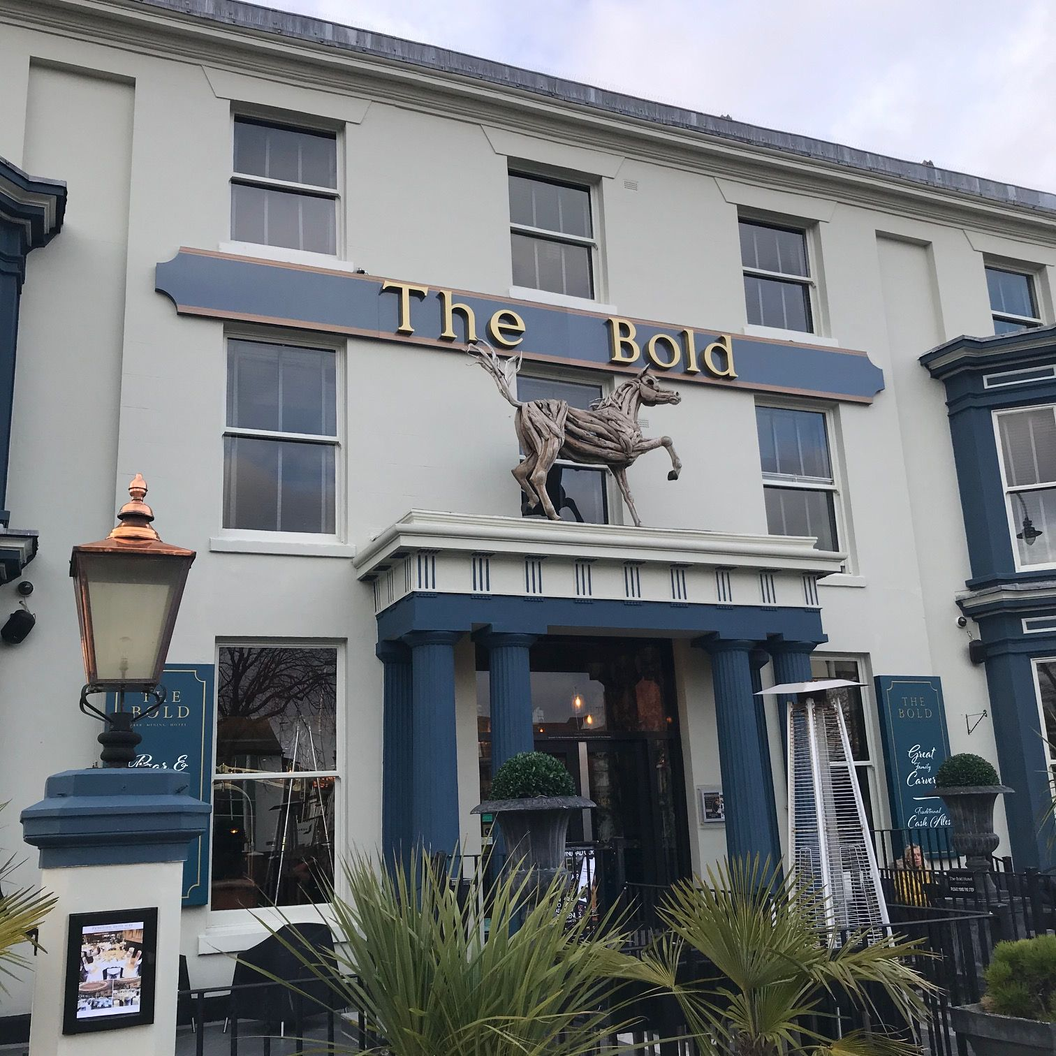 The Bold Hotel on Lord Street in Southport. Photo by Andrew Brown Media