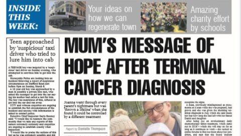 Champion halts newspaper deliveries during virus outbreak