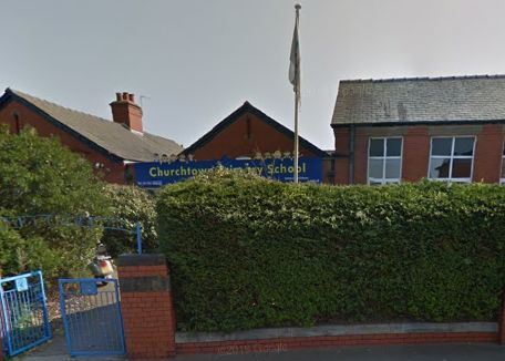 Churchtown Primary School in Southport. Photo by Google