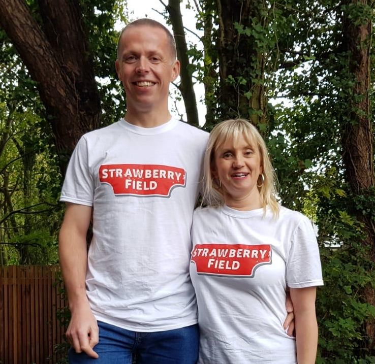 Kelly Barton from Southport and guide runner Mike Leatherbarrow will be raising funds for The Salvation Army's Strawberry Field in Liverpool