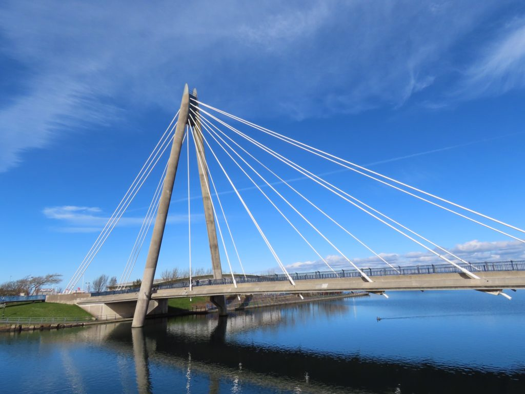 Marine Way Bridge in Southport. Photo by Andrew Brown Media