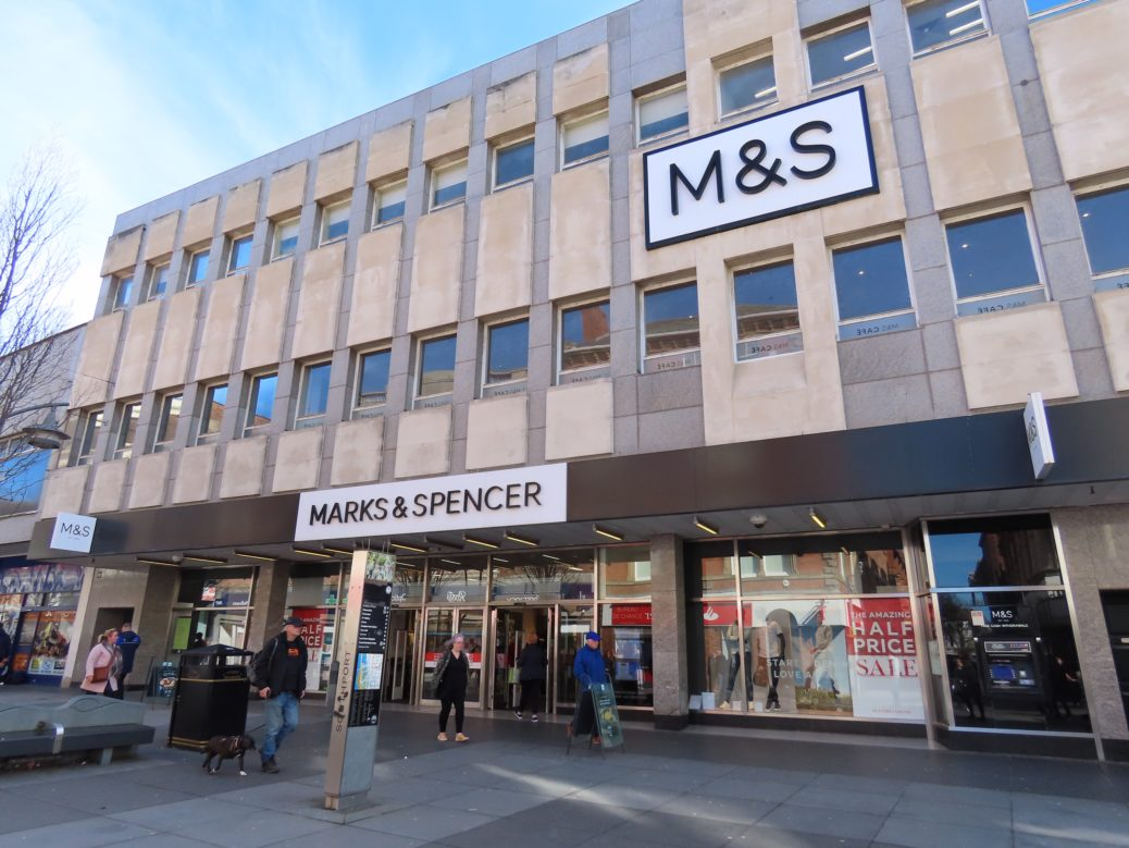 Marks & Spencer on Chapel Street in Southport. Photo by Andrew Brown Media