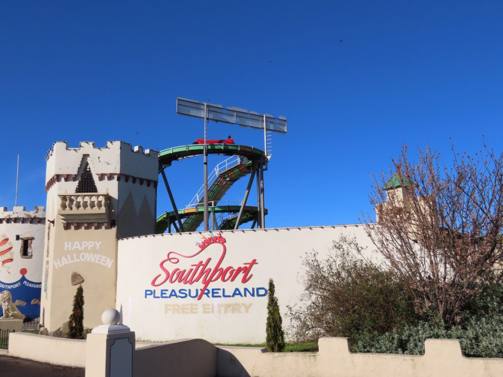 Southport Pleasureland. Photo by Andrew Brown Media
