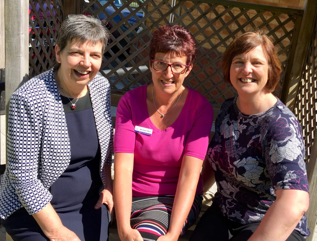 Directors of Queenscourt Hospice in Southport are appealing to local people for their support. Pictured are (from left): Dr Karen Groves, Medical and Education Director; Helen Birch, Director of Nursing Services; and Debbie Lawson, Corporate Services Director.