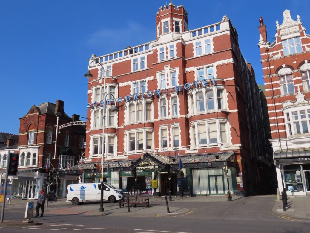 The Scarisbrick Hotel on Lord Street in Southport. Photo by Andrew Brown Media
