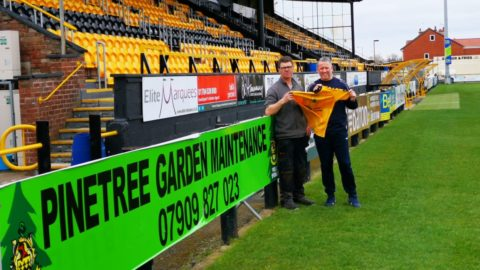 Southport FC given £10,000 to help with Coronavirus impact