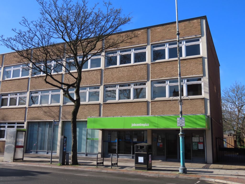 Southport JobCentre. Photo by Andrew Brown Media
