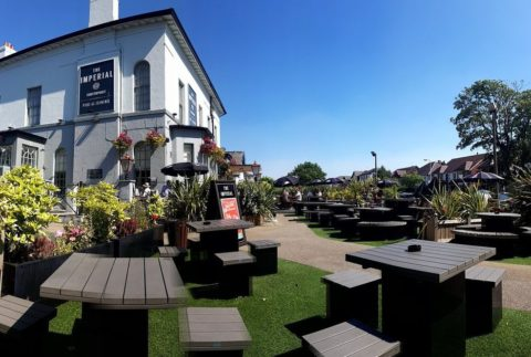 Food Review: The Imperial pub, Albert Road, Southport