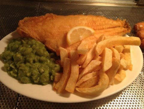 Food Review: The Swan chippy, Stanley Street, Southport