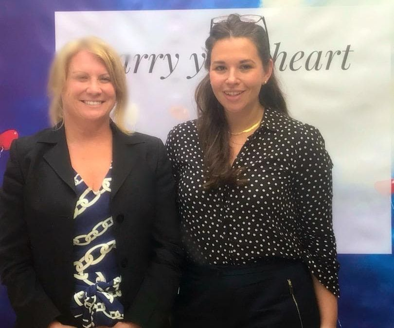 Lighthouses Therapy Services Founder Nadine Baynes and CRADLE Founder Louise Zeniou