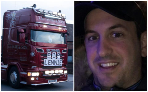 Convoy through villages honours devoted young dad who died with coronavirus aged 34