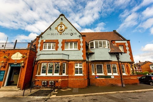 The Blue Anchor pub in Southport