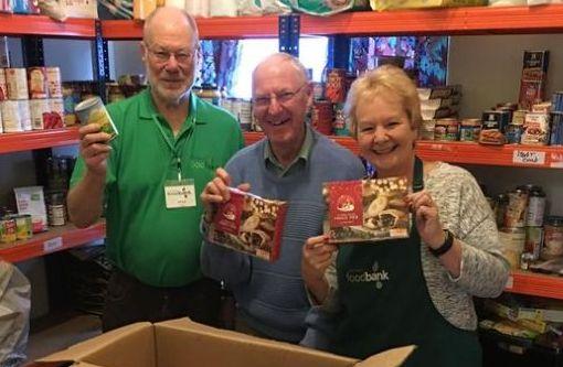 Volunteers at Southport Foodbank