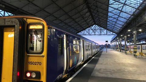 Merseyrail hopes to resume services after this morning's big freeze