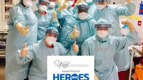 Yaffe Photography raises money for hospital staff during Covid-19