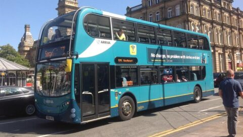 Arriva buses reveals new 'bus full' and face covering measures for passengers
