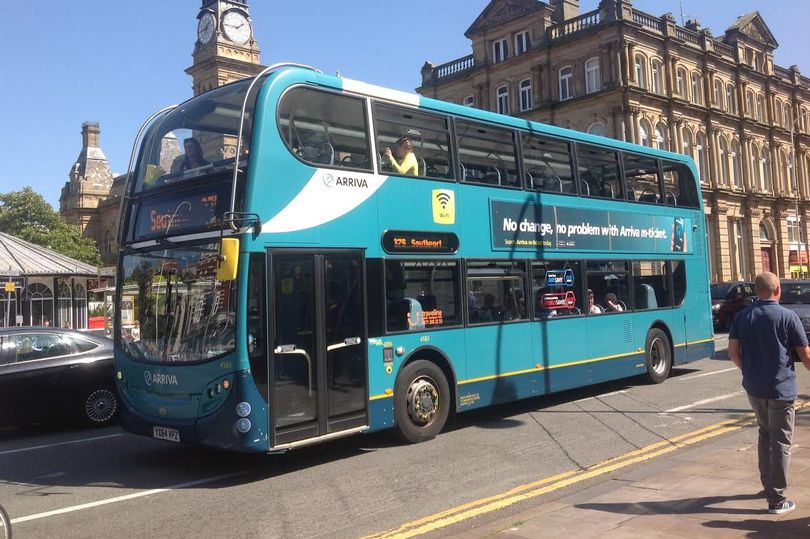 An Arriva Bus in Southport. Photo by Andrew Brown Media