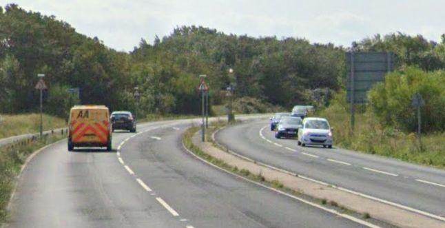 Coastal Road in Southport