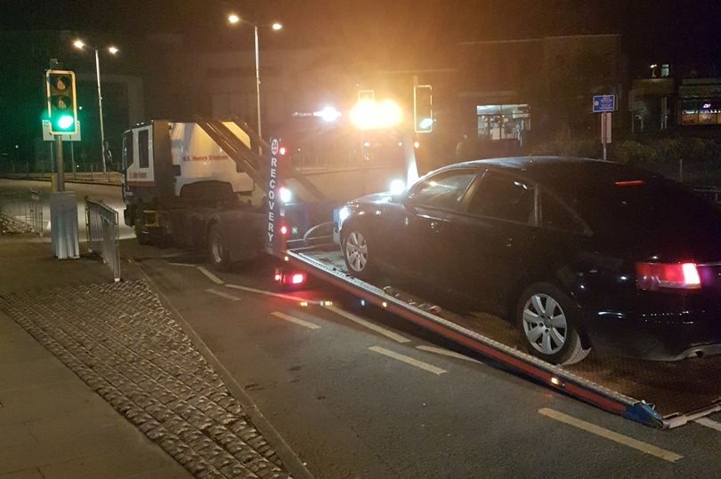 North Wales Police caught a motorist breaching lockdown rules over a games night (Image: North Wales Police)