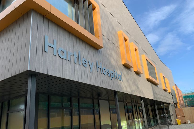 The new Hartley Hospital in Southport