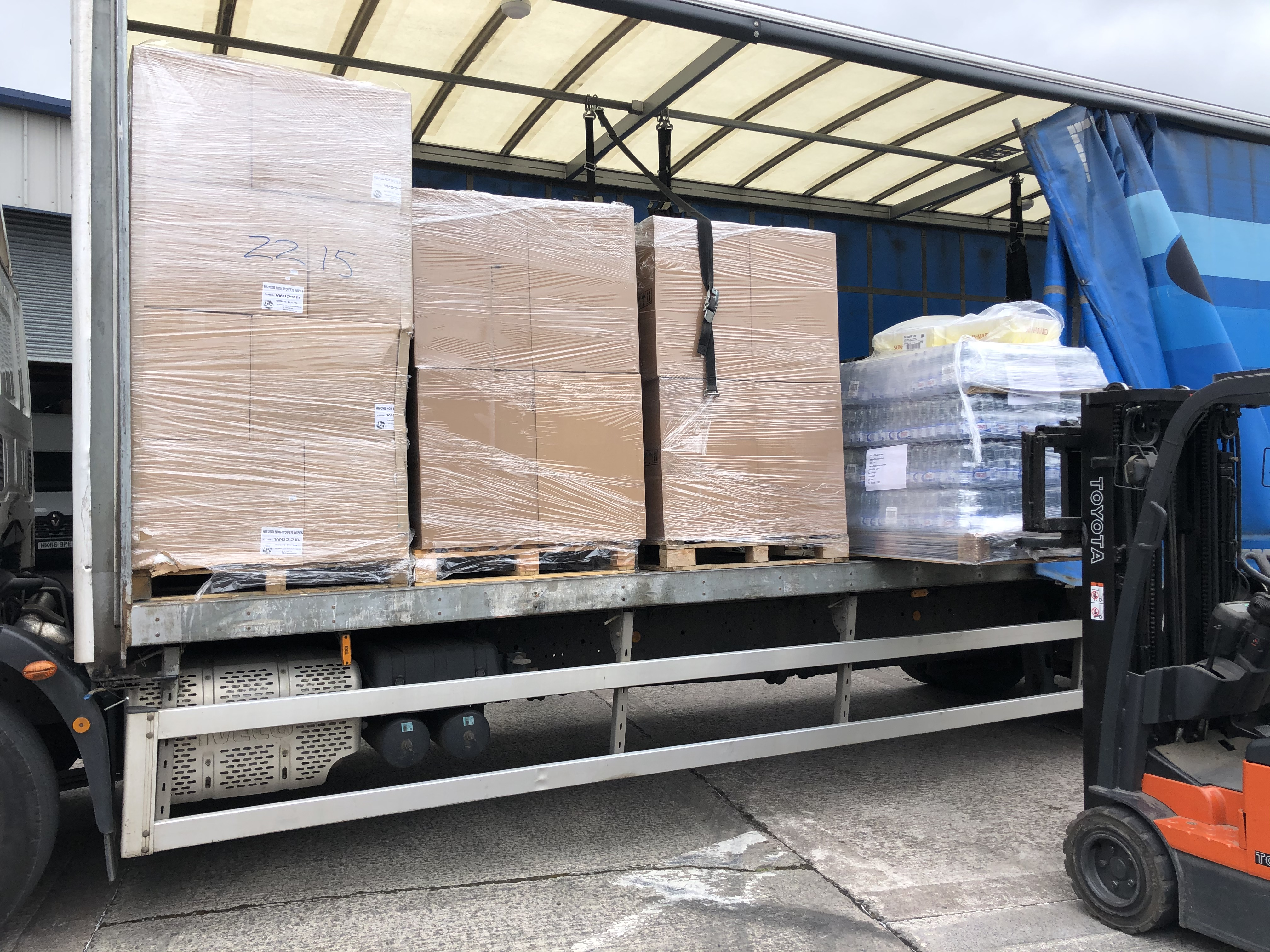 The delivery from Magnetic Activiation arrives at Southport Hospital