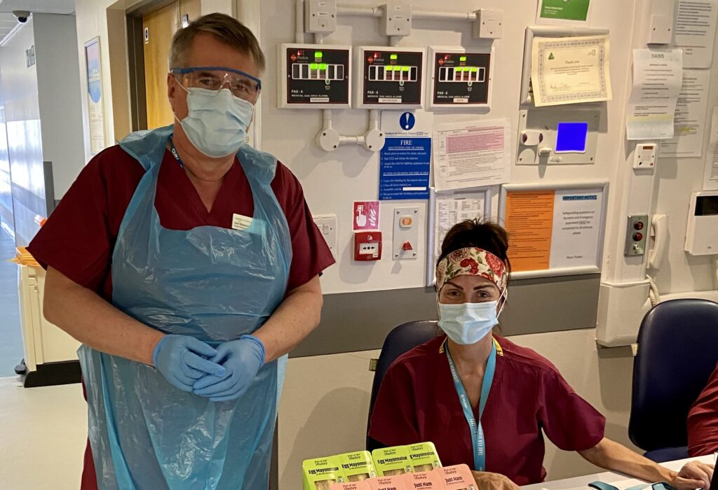 Chair of Southport and Ormskirk Hospital NHS Trust, Neil Masom, has been helping out in various roles to get a better understanding of life on the front line during the Covid-19 outbreak.