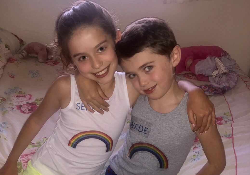 Seren Farrington and her brother Wade have been raising money for Southport and Ormskirk Hospital NHS Trust