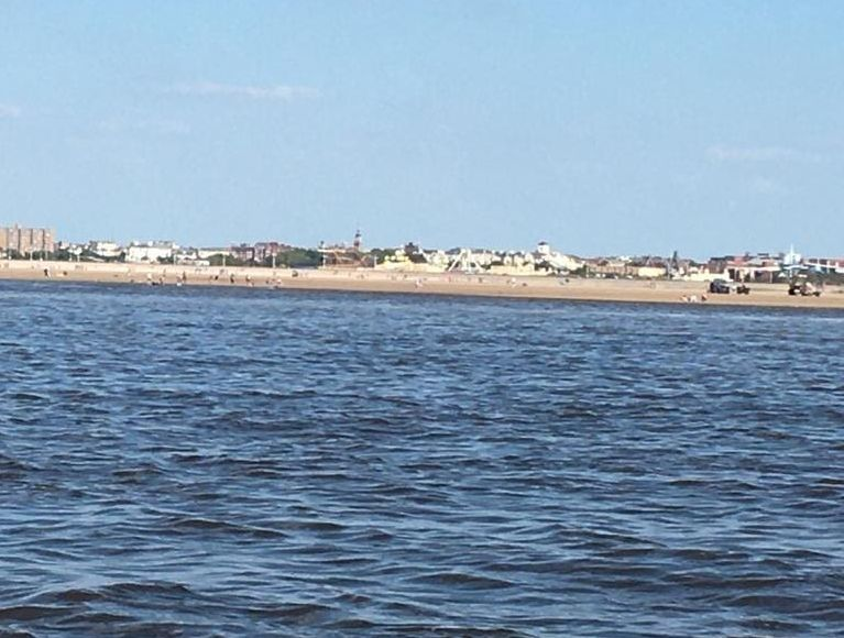 Southport Lifeboat volunteers rescued 40 people who had been cut off by the tide at Southport Beach