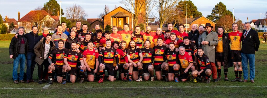 Players and coaches at Southport Rugby Football Club. Photo by Angus Matheson of Wainwright & Matheson Photography