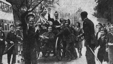 VE Day 75: Southport crowds on Lord Street to mark Hitler's defeat