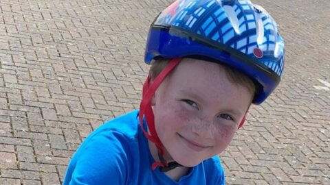 Boy, 6, starts 300km NSPCC cycle challenge days after learning to ride a bike