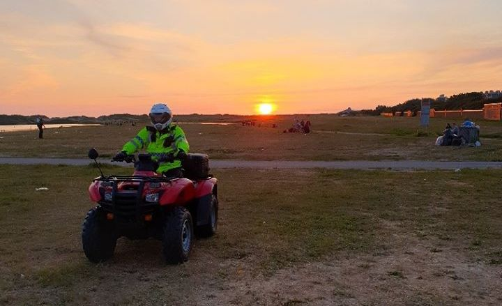 Sefton Police have been in action in Formby where they confiscated BBQs and warned people against taking alcohol onto the beach