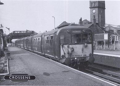 The old Crossens Railway Station in Southport.