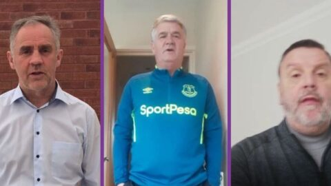 Everton FC and Liverpool FC stars join campaign to support Queenscourt Hospice