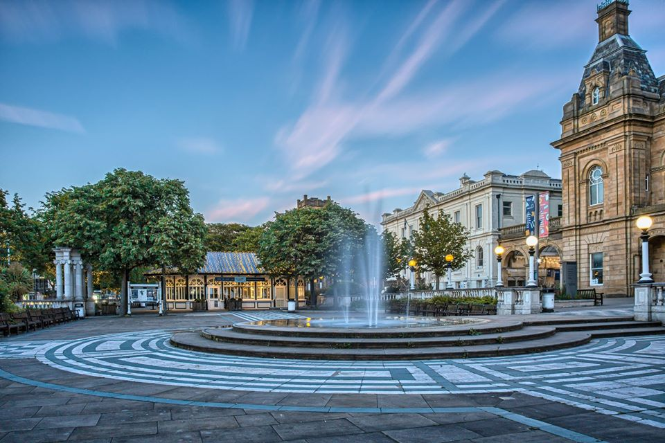 Lord Street in Southport. Photo by Roger Green Photography
