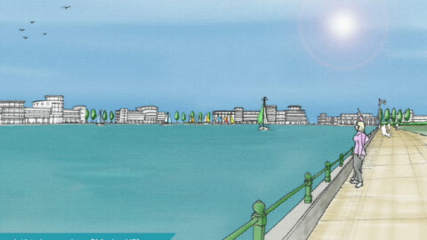 New Marine Village around Marine Lake and lights displays among Southport Town Deal Big Ideas