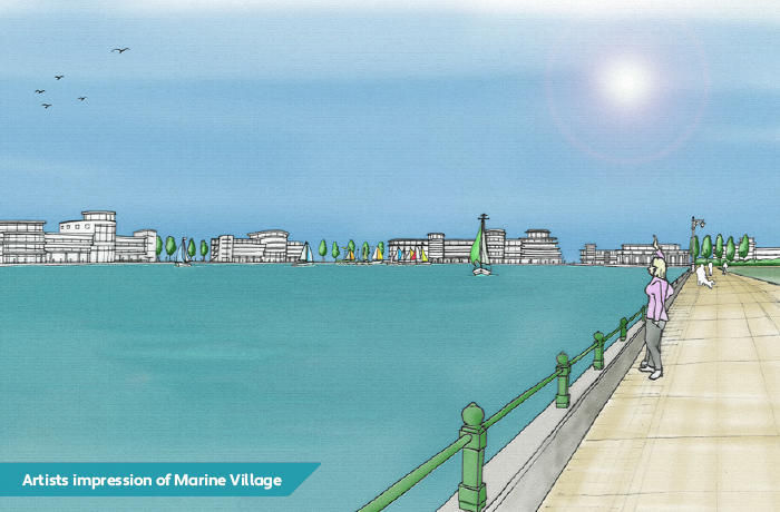 The proposed Marine Village in Soputhrport