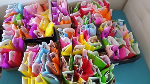 Christ Church volunteers create welcome parcels for hotel asylum seekers