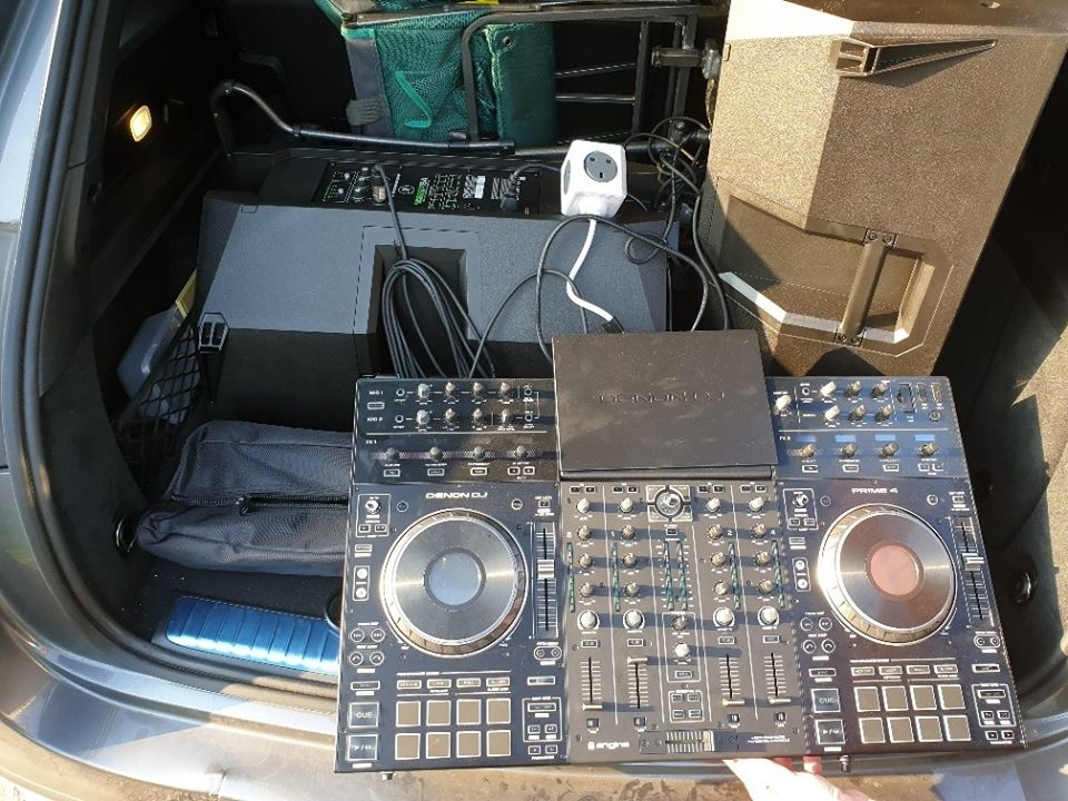Police seized equipment due to be used for an illegal rave at Formby Beach