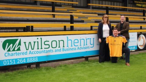 Southport FC reveal new shirt sponsor for 2020/21 season