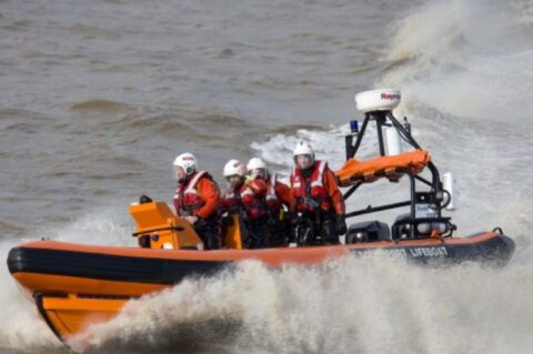 Southport Lifeboat join search to find two teenage boys swept out to sea