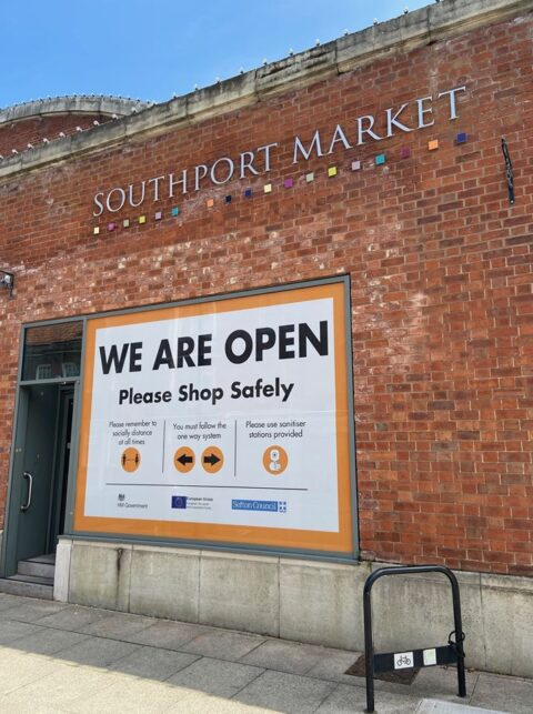 Southport Market back open for business as plans continue to reshape its future