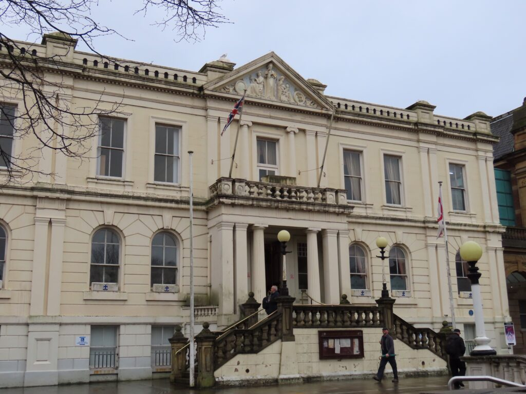 Southport Town Hall. Photo by Andrew Brown Media