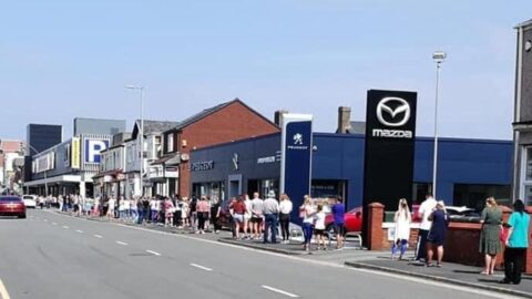 Shoppers return in numbers as shops reopen in Southport
