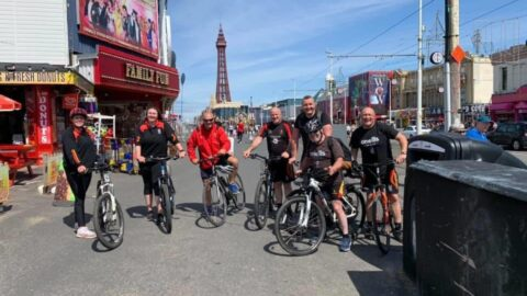 Southport Rugby Club Ellis Expedition nears £25,000 NHS target after Southport to Blackpool cycle ride
