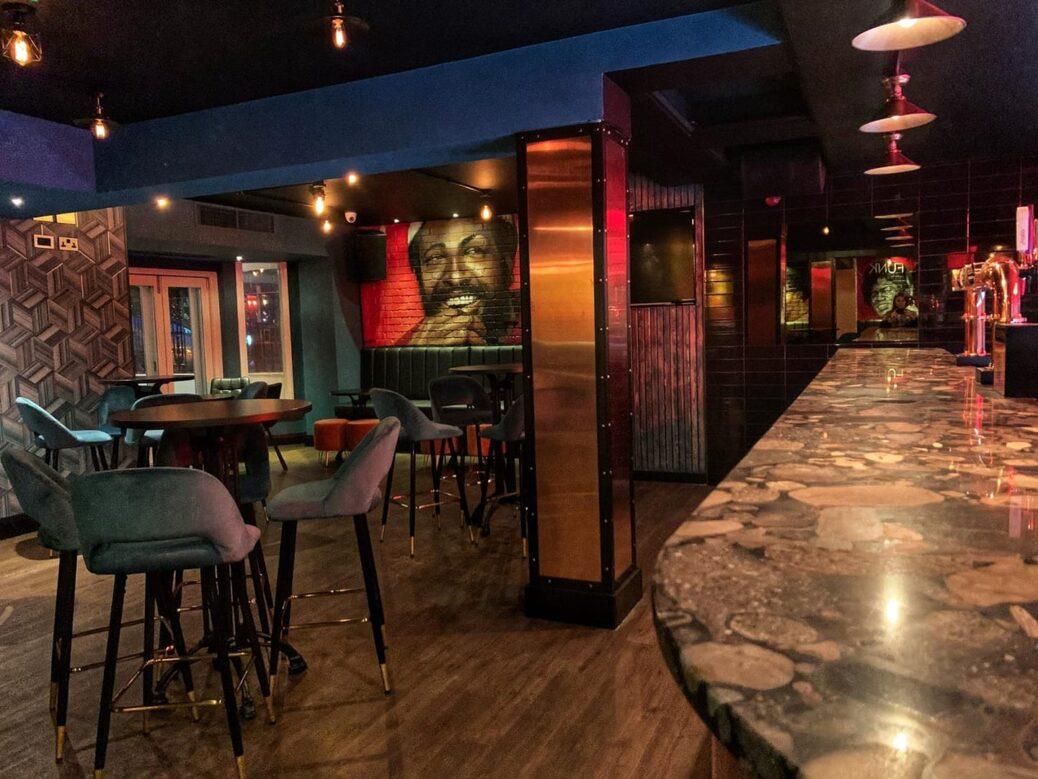 The Carlton bar in Southport